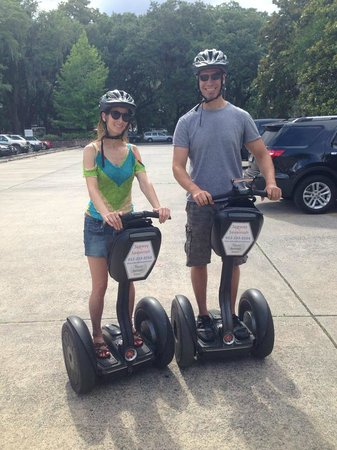 Segway of Savannah: The new pros having a magical experience!