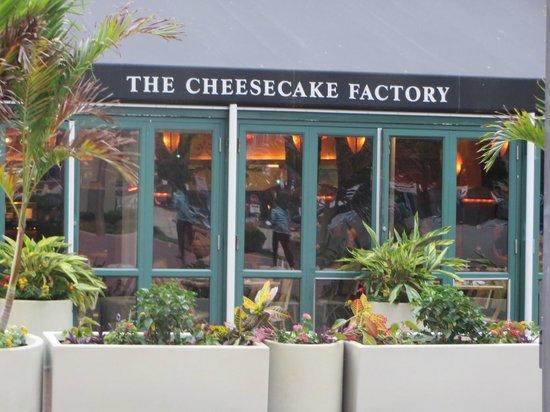 Cheesecake factory maryland casino
