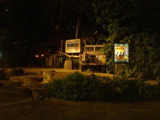 Night Safari : Вход на ночное сафари