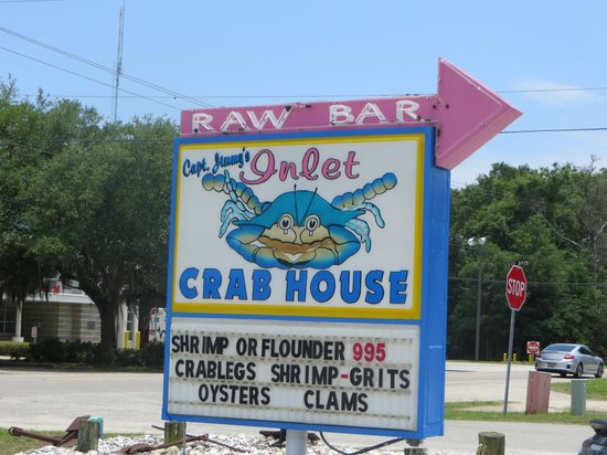 Inlet Crab House & Raw Bar: Love the colors