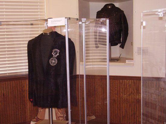 West Tennessee Delta Heritage Center: Elvis' jacket, on display in music museum