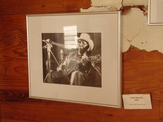 West Tennessee Delta Heritage Center: Photo of blues legend Yank Rachel