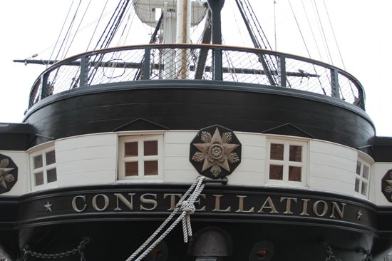 Historic Ships in Baltimore: Big and Massive....