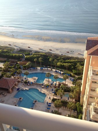 Marriott's OceanWatch Villas at Grande Dunes: 16th floor view