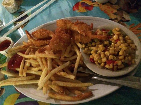 Smitty's Clam Bar: Fried shrimp platter