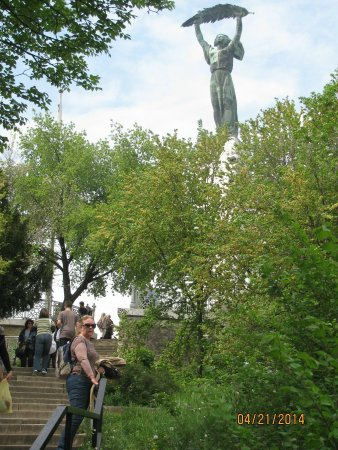 Colina y Estatua Gellért: topo do moro gellert
