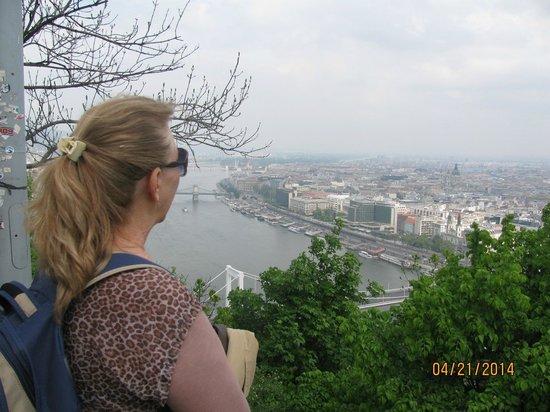 Gellért-hegy : vista da cidade