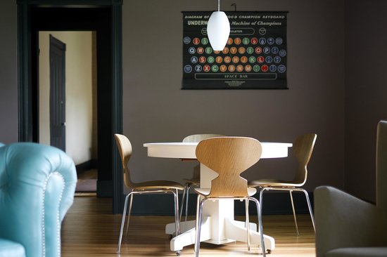 The Nash: Dining space