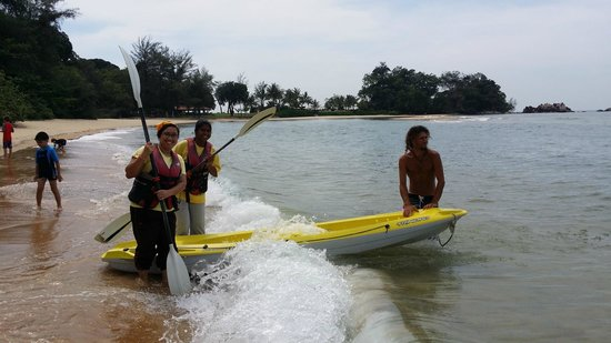 Club Med Cherating Beach: Kayak Time