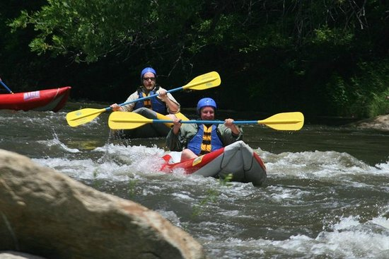 Eagle Rafting : My son and I, once on a life time trip