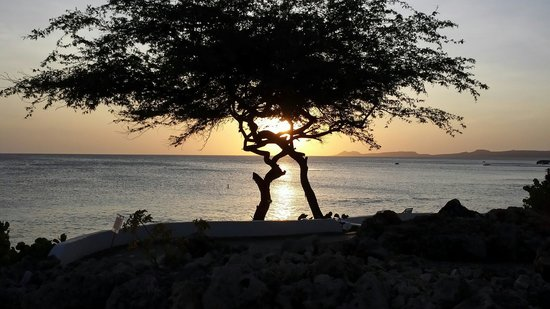 Coral Paradise Resort: Another gorgeous Caribbean sunset