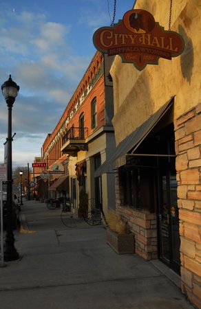 The Historic Occidental Hotel & Saloon and The Virginian Restaurant: The Street