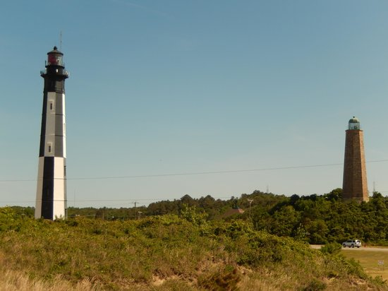 Cape Henry Lighthouses, The New and the Old