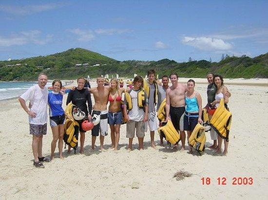 Cape Byron Kayaks: Group tours