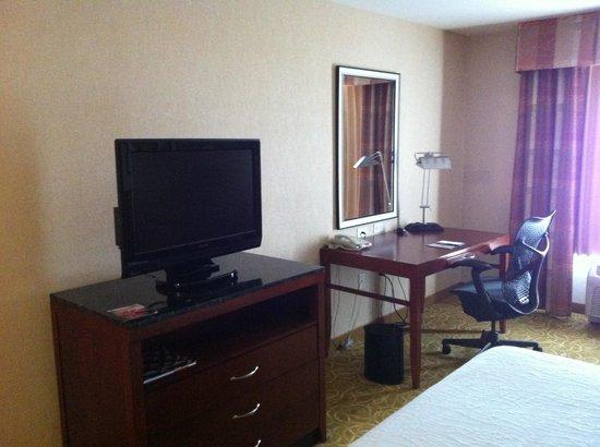 Hilton Garden Inn Reno: TV and work desk