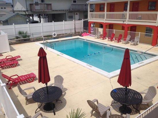 Aqua View Motel: nice pool area