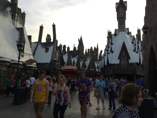 The Wizarding World of Harry Potter: Hogsmade Town will transport you.
