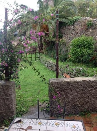Hotel Parsifal Antico Convento del 1288: the lovely terrace from our room which our dog loved