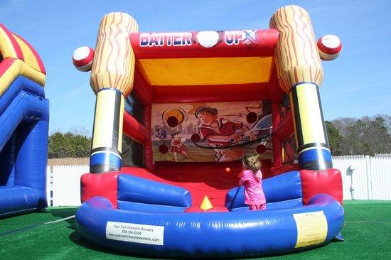 Cape Cod Inflatable Park: Batter up!