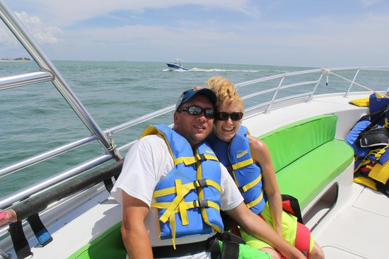 Eagle Parasail: before we went out!