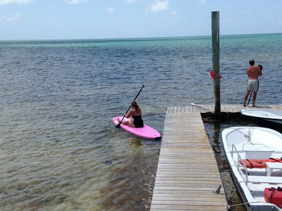 Rainbow Bend Fishing Resort: Paddle Boarding