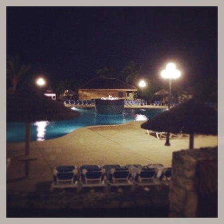 The Verandah Resort & Spa : Main pool at night
