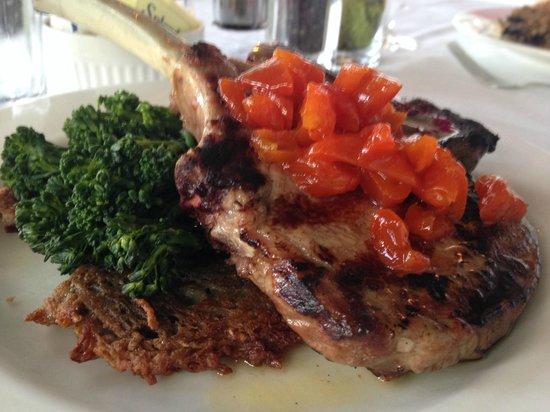 Devon's: Double Thick Cut House Brined Berkshire Pork Chop