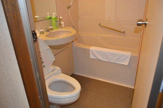 Grand Hotel Hamamatsu : toilet yang sangat bersih