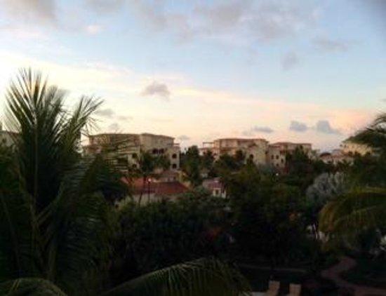 Villa del Mar: sunset from balcony