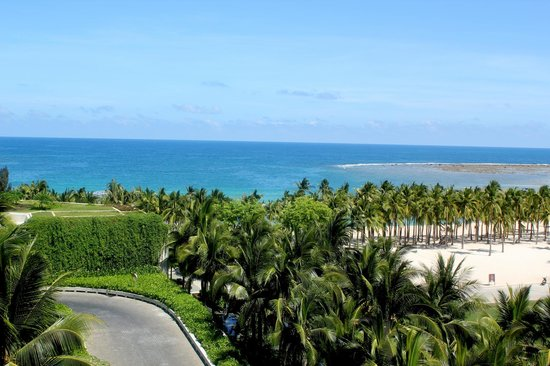 InterContinental Sanya Resort: View from balcony
