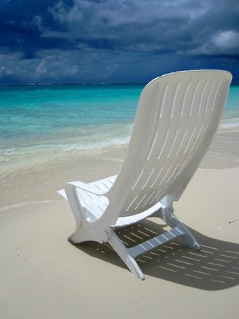 Sands at Grace Bay : Beach chair.