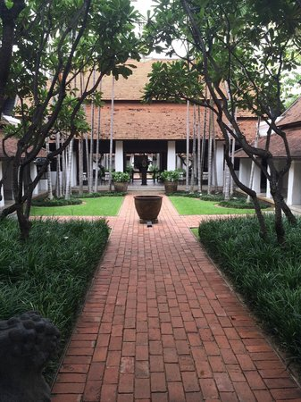 Rachamankha: Courtyard from room