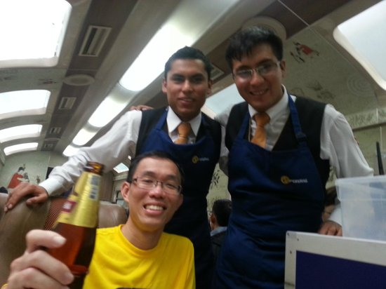 PeruRail - Expedition: Friendly staff from Peru Rail