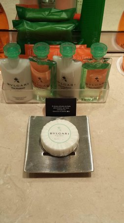 Hesperia Tower : Complimentary Bvlgari products