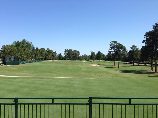 Pinehurst Course Number 2: A view from the bleachers