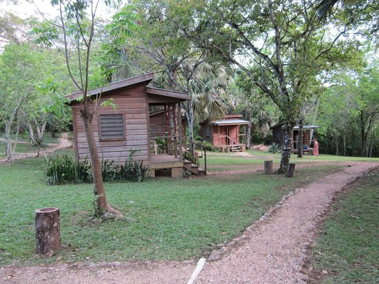 The Trek Stop : The other cabins (in front of ours)