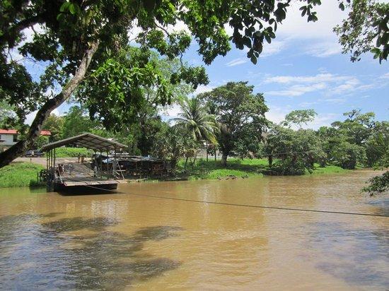 The Trek Stop: Hand-crank ferry to Xunantunich Mayan Ruins
