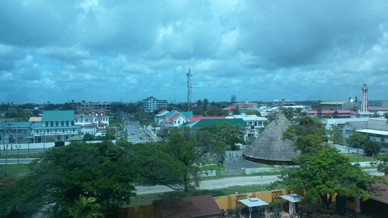 Pegasus Hotel Guyana: City View from suite 504, not far from elevator