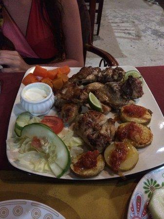 Captain Cook Restaurant : Grilled chicken