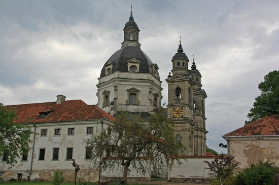 Pazaislis Monastery: View of Monastery