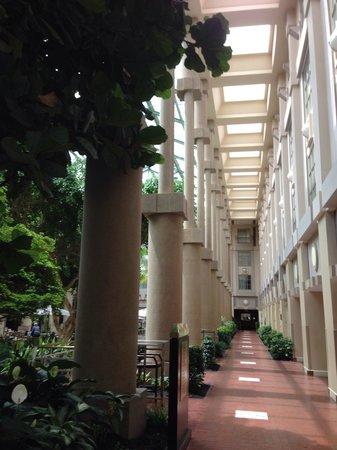 Hyatt Regency Greenwich: Reception area