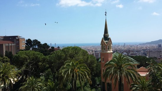 Park Güell: Views from the free part of Guell Park