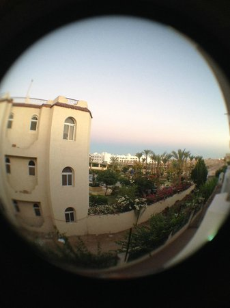 Sharm Cliff Resort: вид из номера 568
