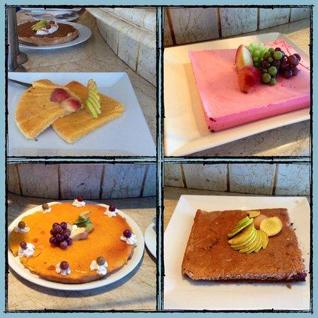 Sharm Cliff Resort: выбор десертов