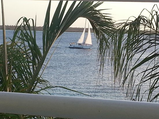 Den Laman Condominium: View from our balcony
