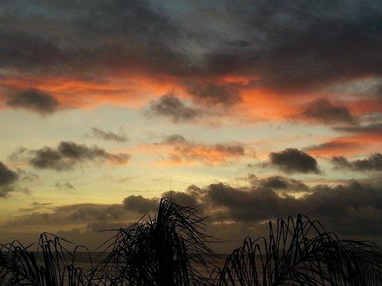 Den Laman Condominium: Sunset is different each night
