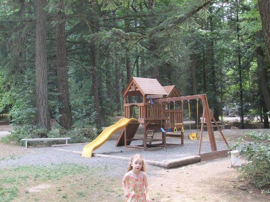 Coquihalla Campground: Playground