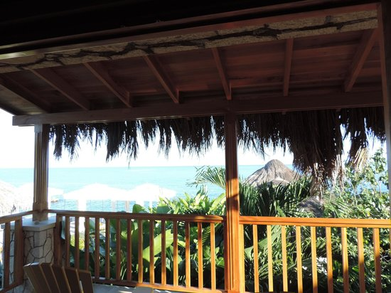 Blue Mahoe Restaurant at The SPA Retreat: From the terrace room