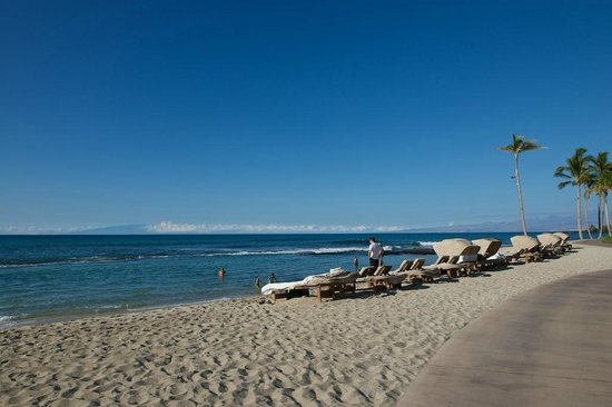 Four Seasons Resort Hualalai : Beach Beds