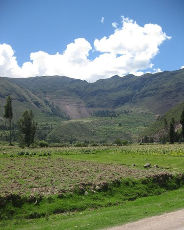 Valle Sagrado de los Incas: Driving through the Sacred Valley